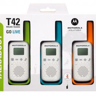 Radijo stotelė Motorola TALKABOUT T42 , 3vnt komplektas