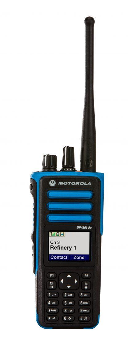 Motorola DP4801ex profesionali radijo ryšio stotelė (skaitmeninė DMR, VHF)