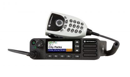 Automobilinės MOTOTRBO radijo ryšio stotys